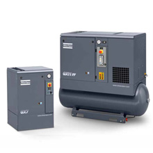 Atlas Copco GX screw compressors