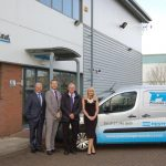 The Management Team at Precision Pneumatics celebrates 25 years as Atlas Copco Premier Distributor