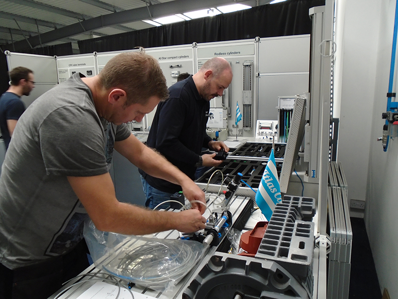Book now for P111d Fundamentals in Pneumatics course