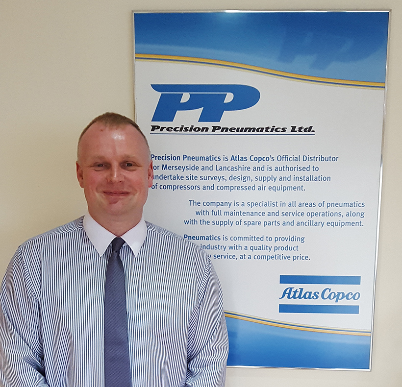 Carlton Relf has joined Precision Pneumatics as Technical Sales Engineer - Pneumatics and Capital Sales