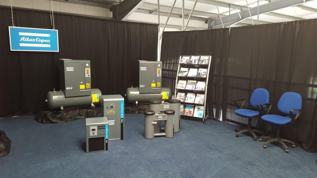 The new showroom at Precision Pneumatics