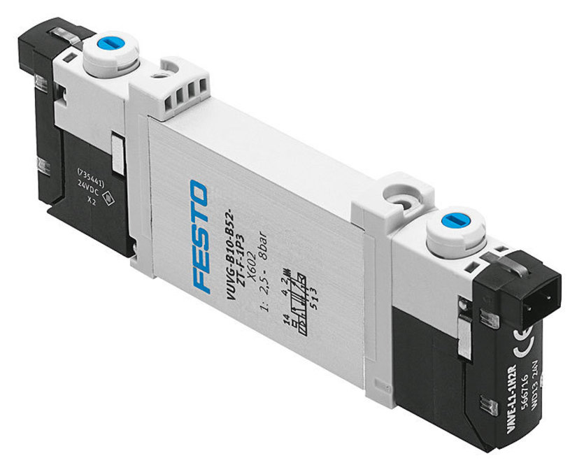 A number of valves are included in the Festo Stars of Pneumatics Range