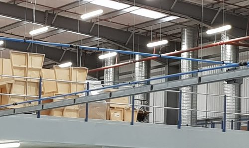 A complete Compressed Air solution for new build factory