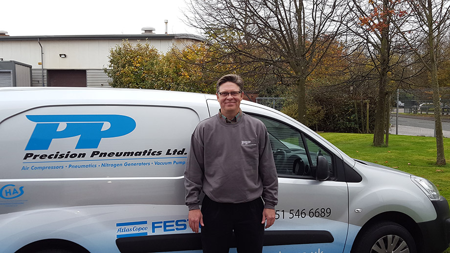 Precision Pneumatics welcomes new Technical Solutions Engineer