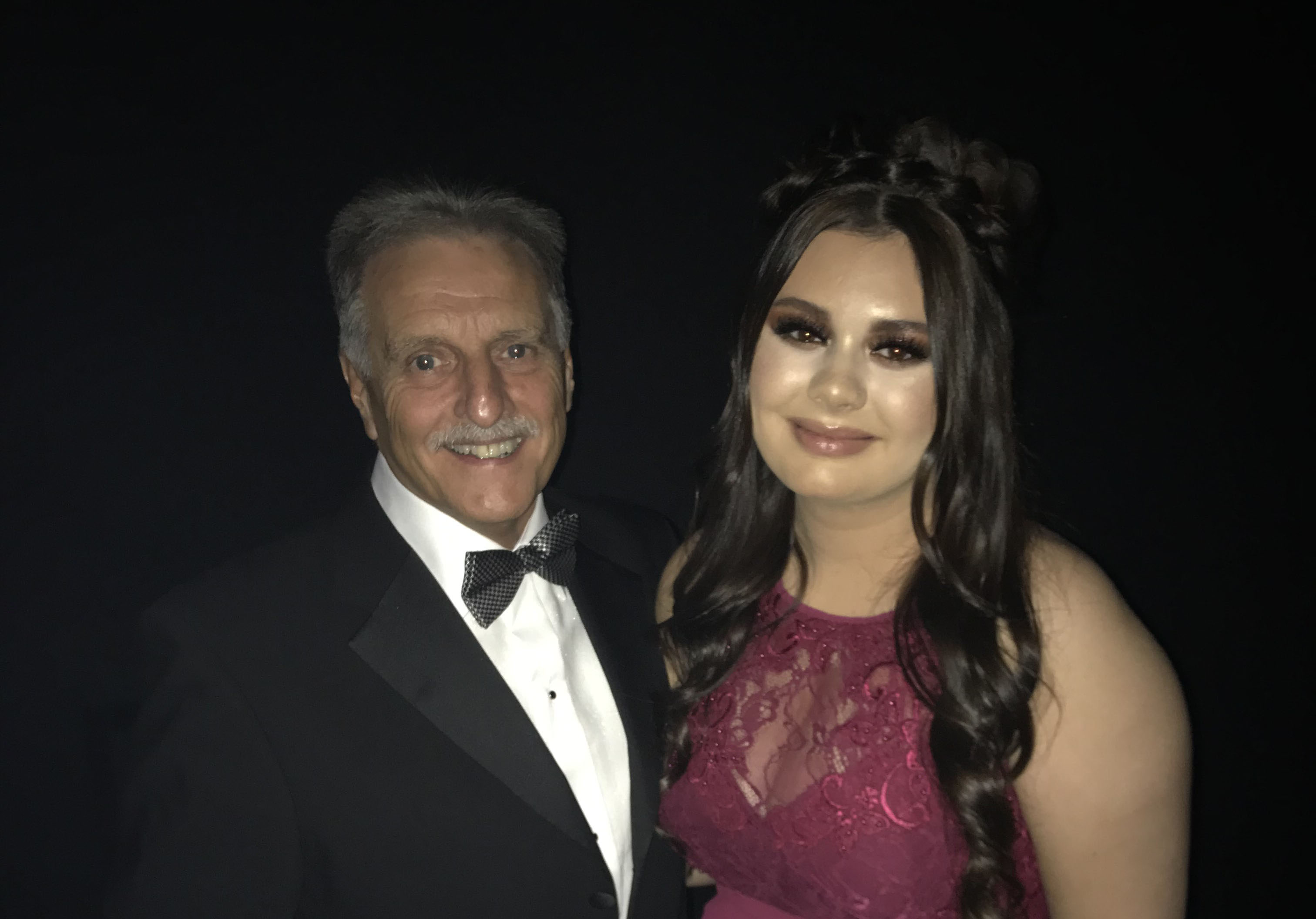 Phil Hood and Beth Wood at the 2018 Knowsley Business Awards