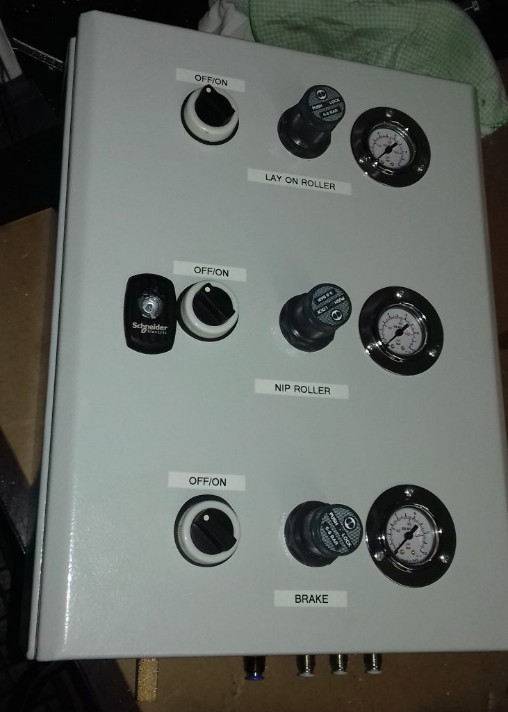 The Control Box as it is seen by operators