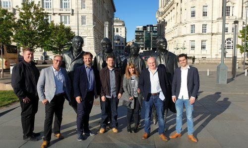 Precision Pneumatics welcome Atlas Copco to Merseyside