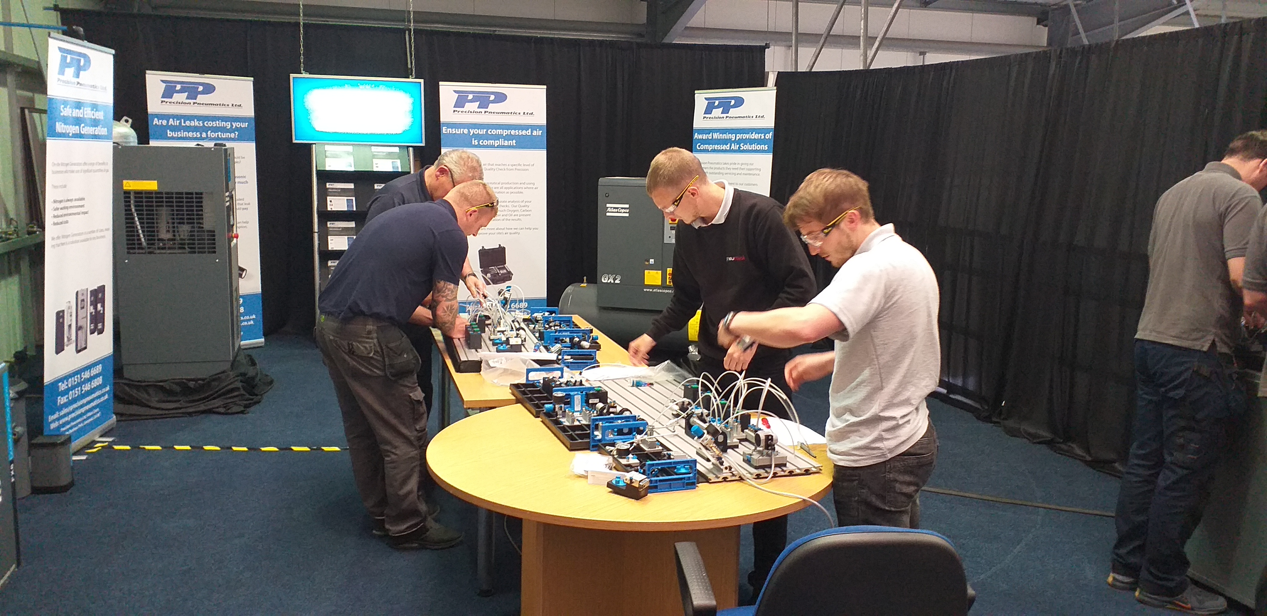 Precision Pneumatics again hosts Fundamentals in Pneumatics course