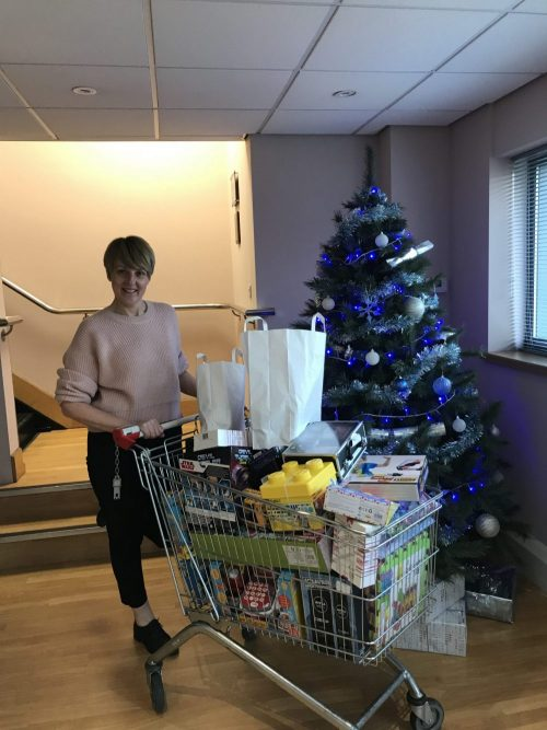 Precision Pneumatics collects for Mission Christmas