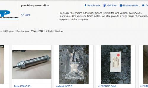 Precision Pneumatics is on eBay!